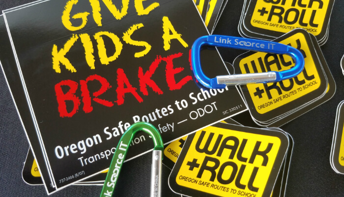 Link Source Helps Students WALK+ROLL 5